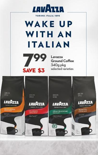 Ian Lavazza  Ground Coffee  340g Pkg