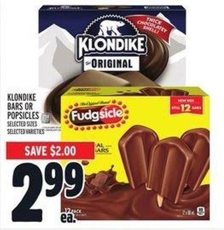 Klondike Bars or Popsicles