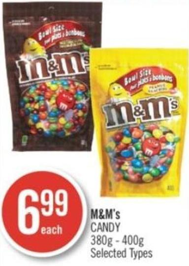 M&m's Candy 380g - 400g