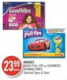 Huggies Boxed Pull-ups or Goodnites Training Pants