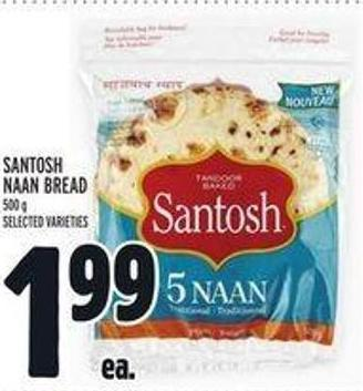 Santosh Naan Bread