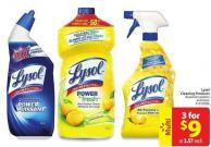Lysol Cleaning Products