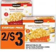Irresistibles Or Selection Popping Corn 240 - 282 G