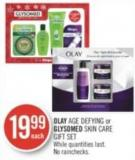 Olay Age Defying or Glysomed Skin Care Gift Set