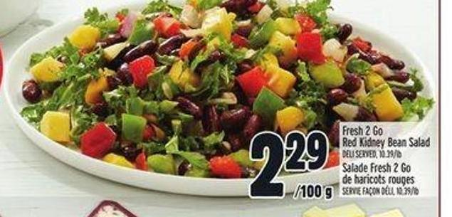 Fresh 2 Go Red Kidney Bean Salad
