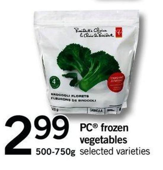 PC Frozen Vegetables