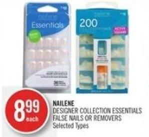 Nailene Designer Collection Essentials False Nails Or Removers