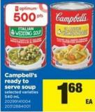 Campbell's Ready To Serve Soup - 540 mL