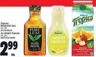 Tropicana Refrigerated Juice 1.54 - 1.75 L
