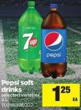 Pepsi Soft Drinks - 2 L