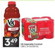 V8 Vegetable Cocktail