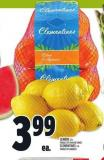 Lemons 2 Lb Product Of Spain Or Turkey Clementines 2 Lb Product Of Morocco