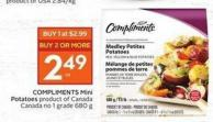 Compliments Mini Potatoes Product of Canada Canada No 1 Grade 680 g