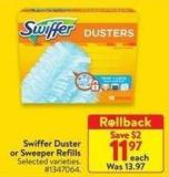 Swiffer Duster or Sweeper Refills