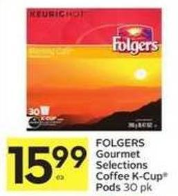 Folgers Gourmet Selections Coffee K-cup Pods 30 Pk