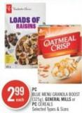 PC Blue Menu Granola Boost (325g) - General Mills or PC Cereals