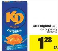 Kd Original 225 G Or Cups 58 G