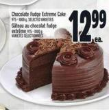 Chocolate Fudge Extreme Cake 975 - 1000 g