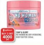 Soap & Glory No Woman No Dry Hydrating Body Butter 300 ml