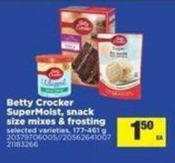 Betty Crocker Supermoist - Snack Size Mixes & Frosting -  - 177-461 g