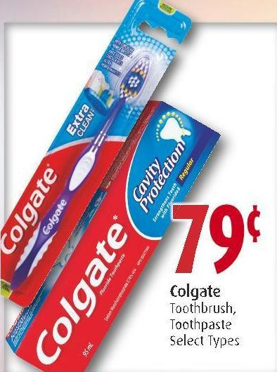 Colgate Toothbrush - Toothpaste