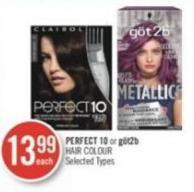 Perfect 10 or Göt2b Hair Colour