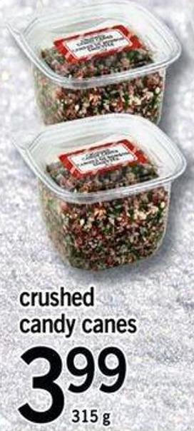 Crushed Candy Canes - 315 G
