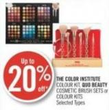The Color Institute Colour Kit - Quo Beauty Cosmetic Brush Sets or Colour Kits
