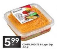Compliments 6-layer Dip