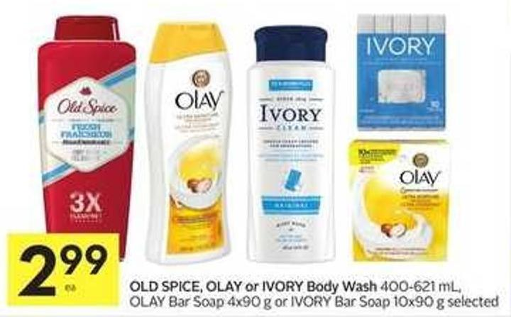 Old Spice - Olay or Ivory Body Wash