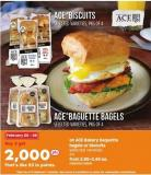 Ace Bakery Baquette Bagels Or Biscuits - 4's