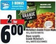 Michelina's Grande Frozen Meals 454 g