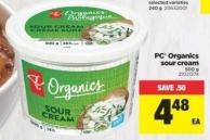 PC Organics Sour Cream - 500 g