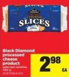 Black Diamond Processed Cheese Product - 450 G