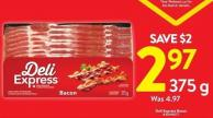 Deli Express Bacon 375 g