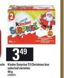 Kinder Surprise T2 Christmas Box - 40 g