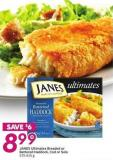 Janes Ultimates Breaded or Battered Haddock