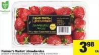 Farmer's Market Strawberries - 340 g
