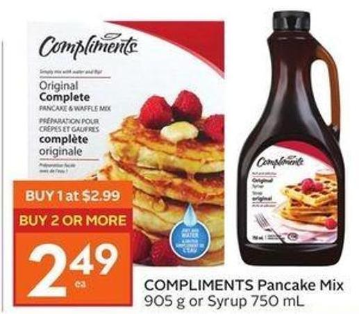 Compliments Pancake Mix