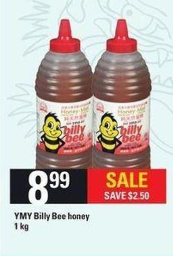 Ymy Billy Bee Honey - 1 Kg