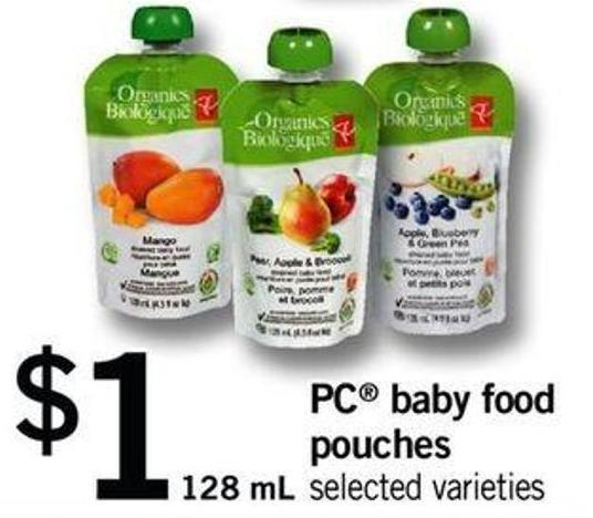 PC Baby Food Pouches - 128 mL