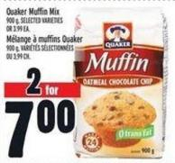 Quaker Muffin Mix