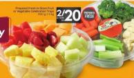 Prepared Fresh In-store Fruit or Vegetable Celebration