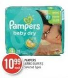 Pampers Jumbo Diapers
