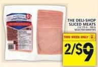 The Deli-shop Sliced Meats 2 X 175 G - 700 G