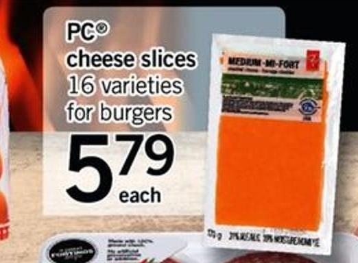 PC Cheese Slices