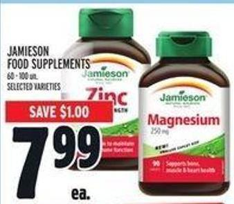 Jamieson Food Supplements