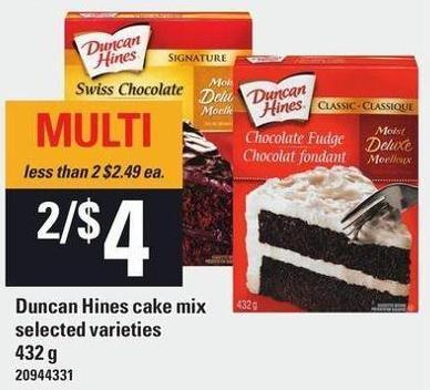Duncan Hines Cake Mix - 432 g