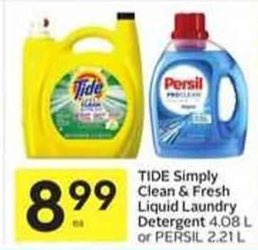 Tide Simply Clean & Fresh Liquid Laundry Detergent