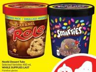 Nestlé Dessert Tubs Selected Varieties 400 mL